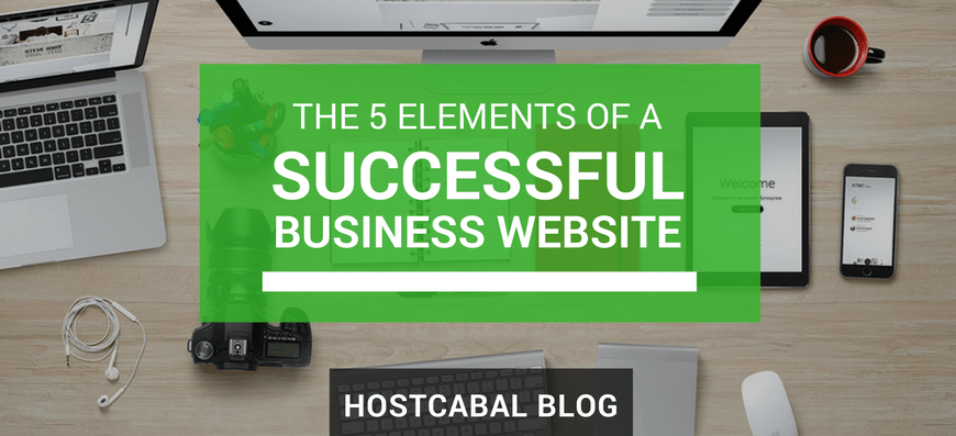 5 elements of a successful business website